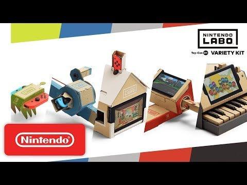 Embedded thumbnail for Nintendo LABO Bridges the Mellenial Divide