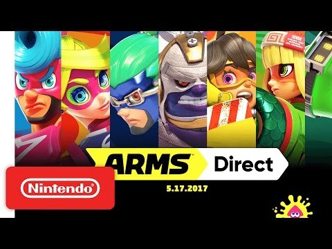 Embedded thumbnail for Nintendo's ARMS Global Test Punch is a KO of Fun and Frenzy!